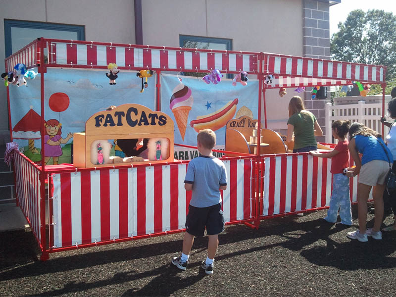 5 Carnival Booths 10 Games