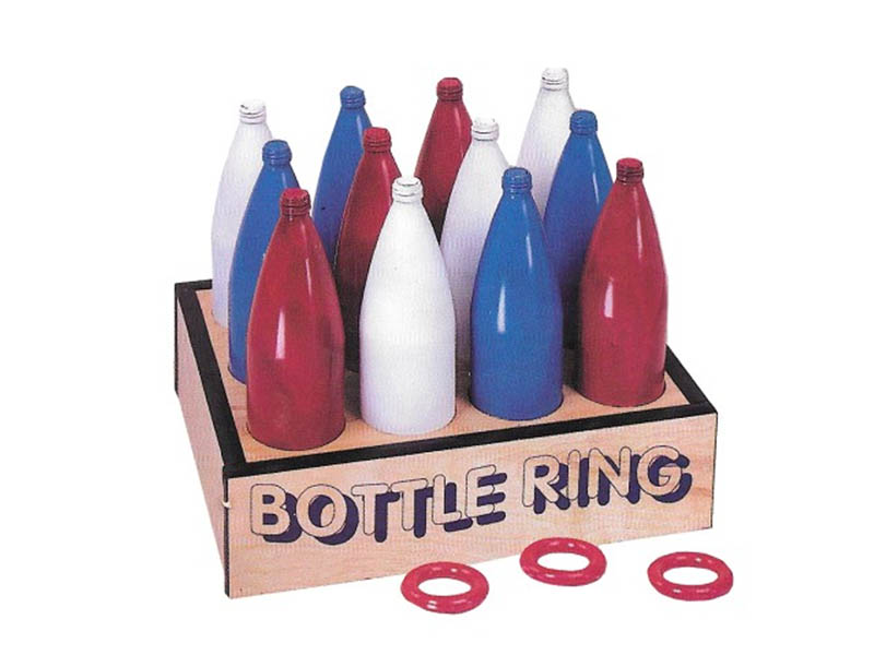 Red White Blue Bottle Ring